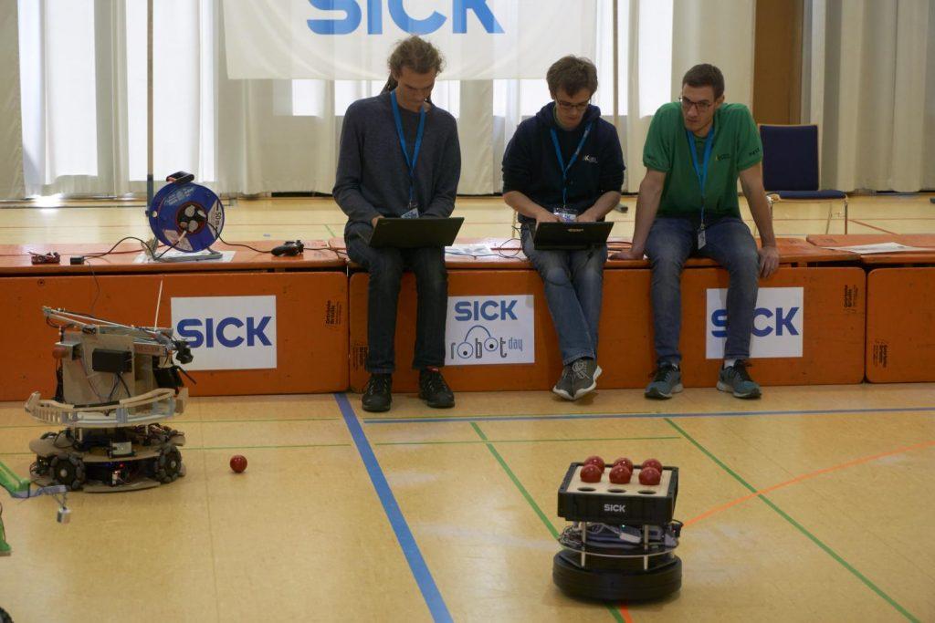Cassiopeia beim SICK Robot Day